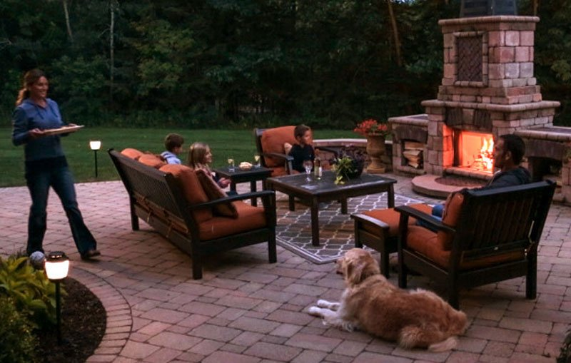 As The Temperature Gets Cooler, People Start Heading Outside To Enjoy The  Cooler Evenings.